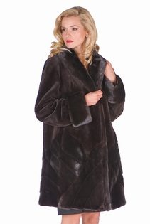 Sheared-Brown-Mink-Jacket-Herringbone-Designs