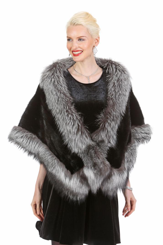 mink stole coat