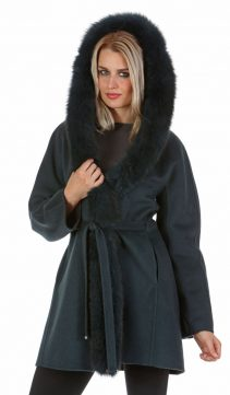 guy larouche real fur trim parka-fox fur hood trim-reversible jacket