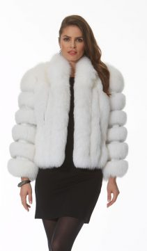 white-fox-jacket