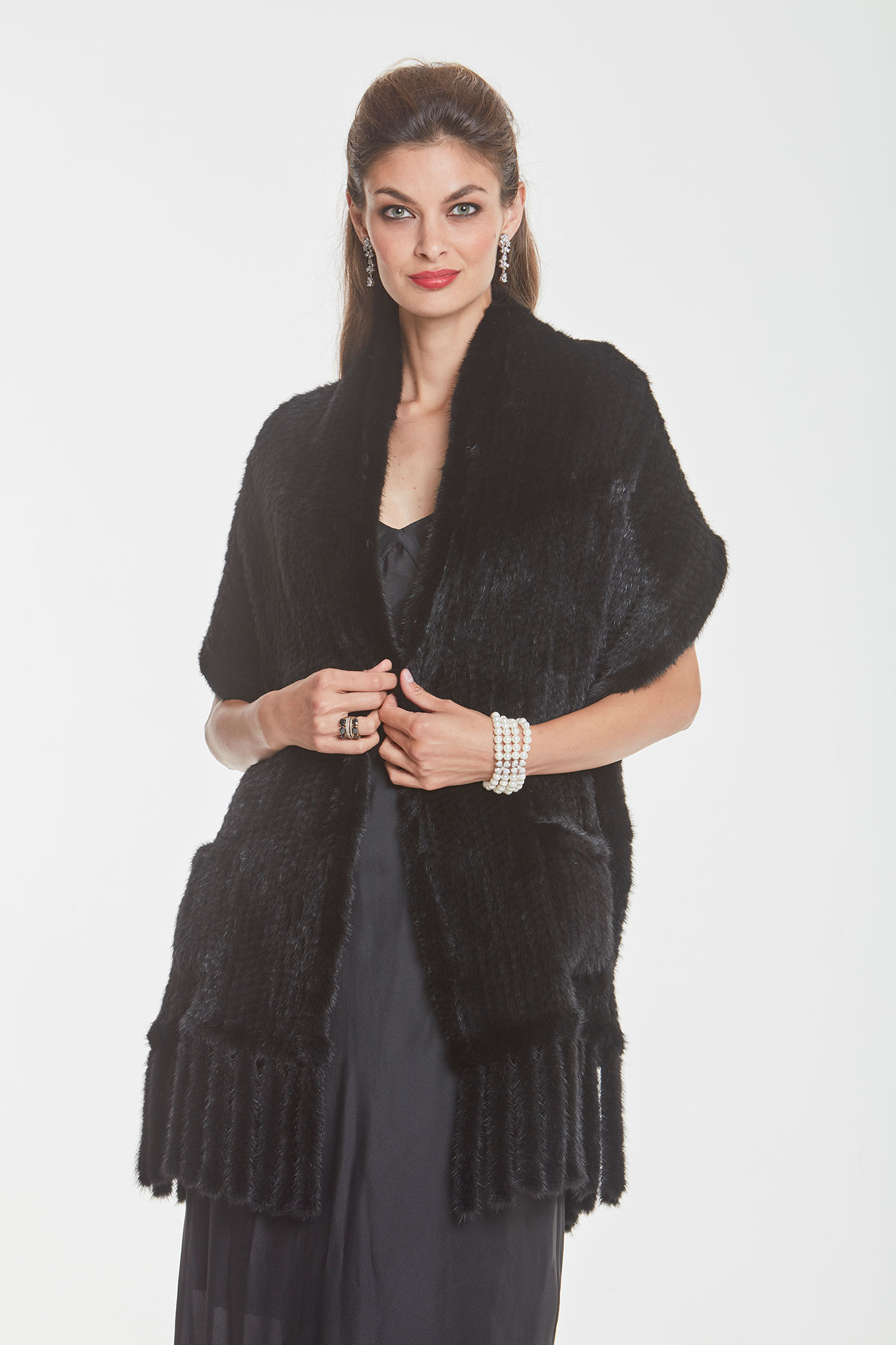 knitted-mink-wrap-cape