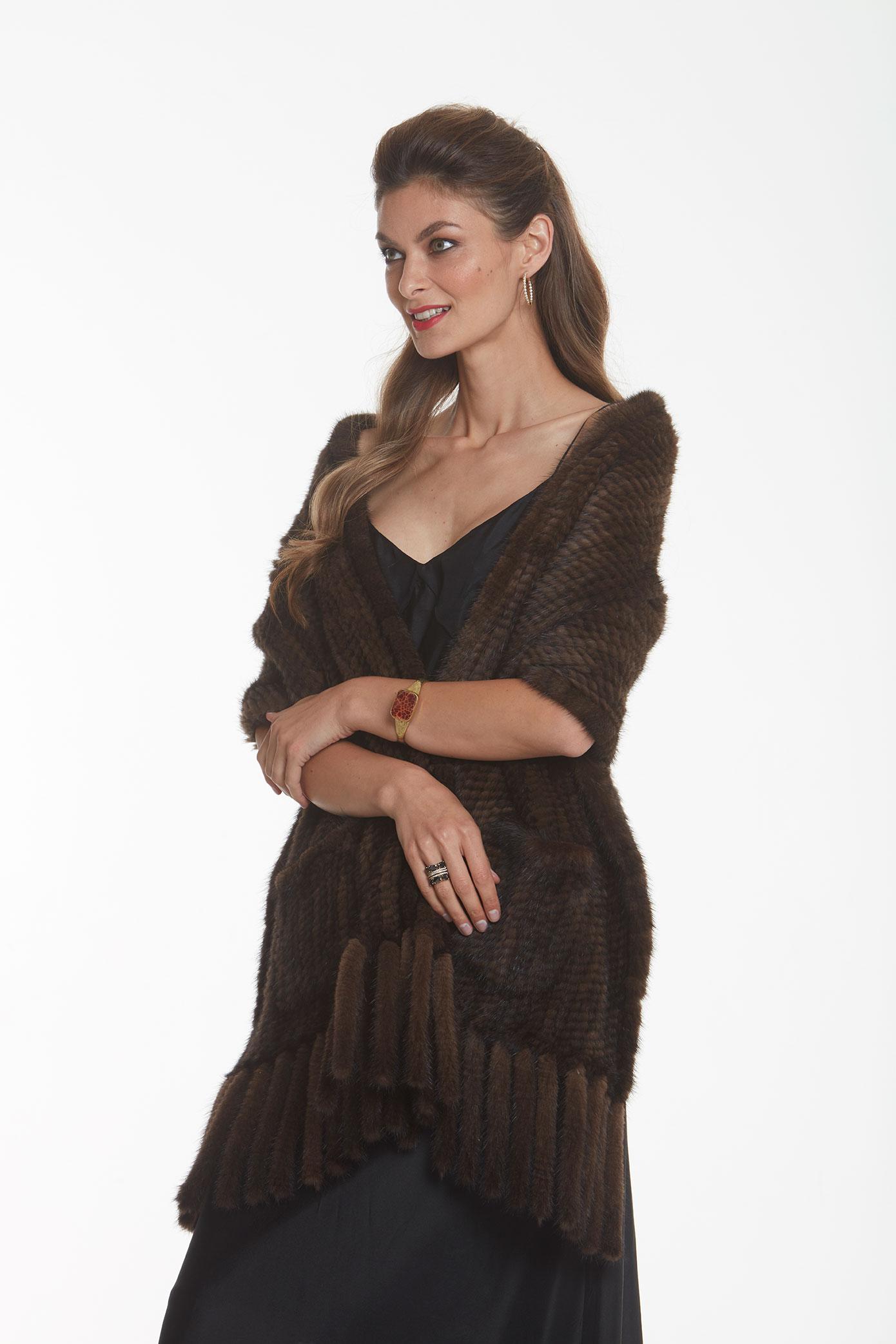 knitted-mink-shawl-mahogany
