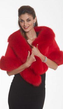 red-fur-cape