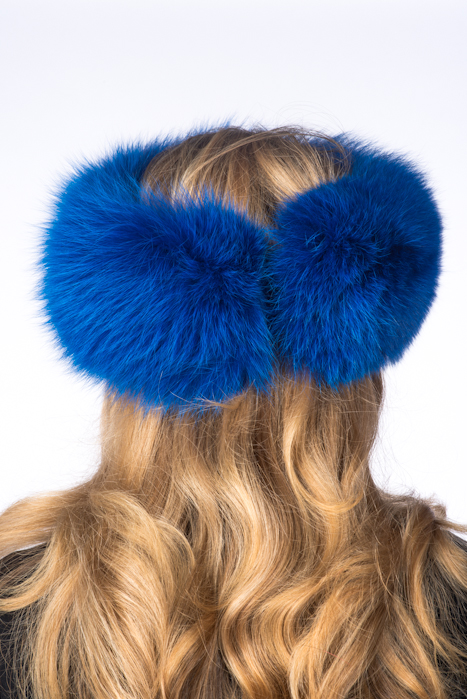 roayl-blue- fur-headband