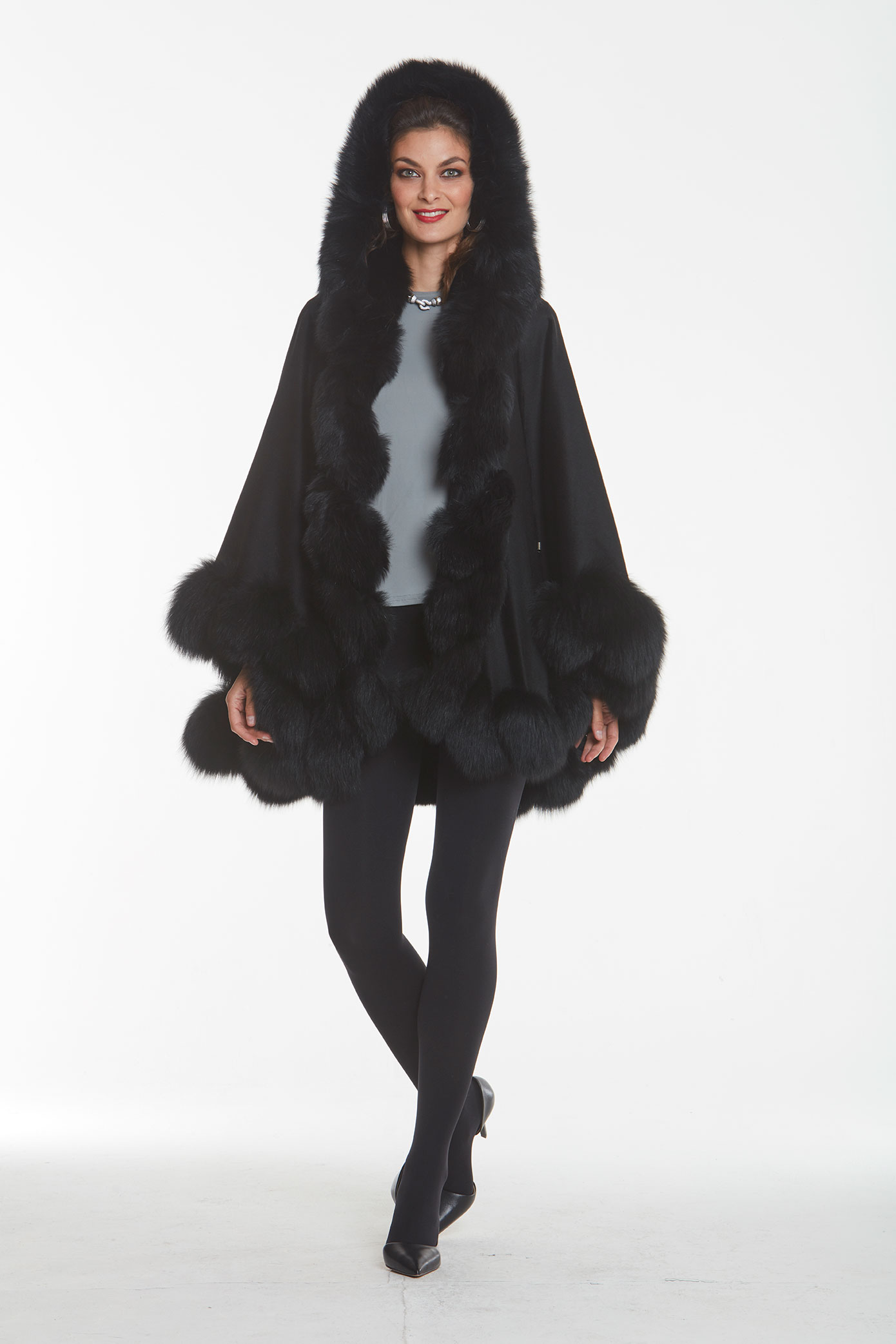 black-cashmere-hooded-cape