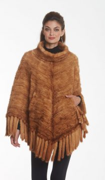 knitted-mink-cape-poncho