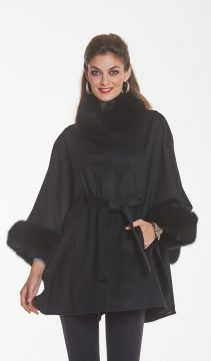 black - cashmere-cape