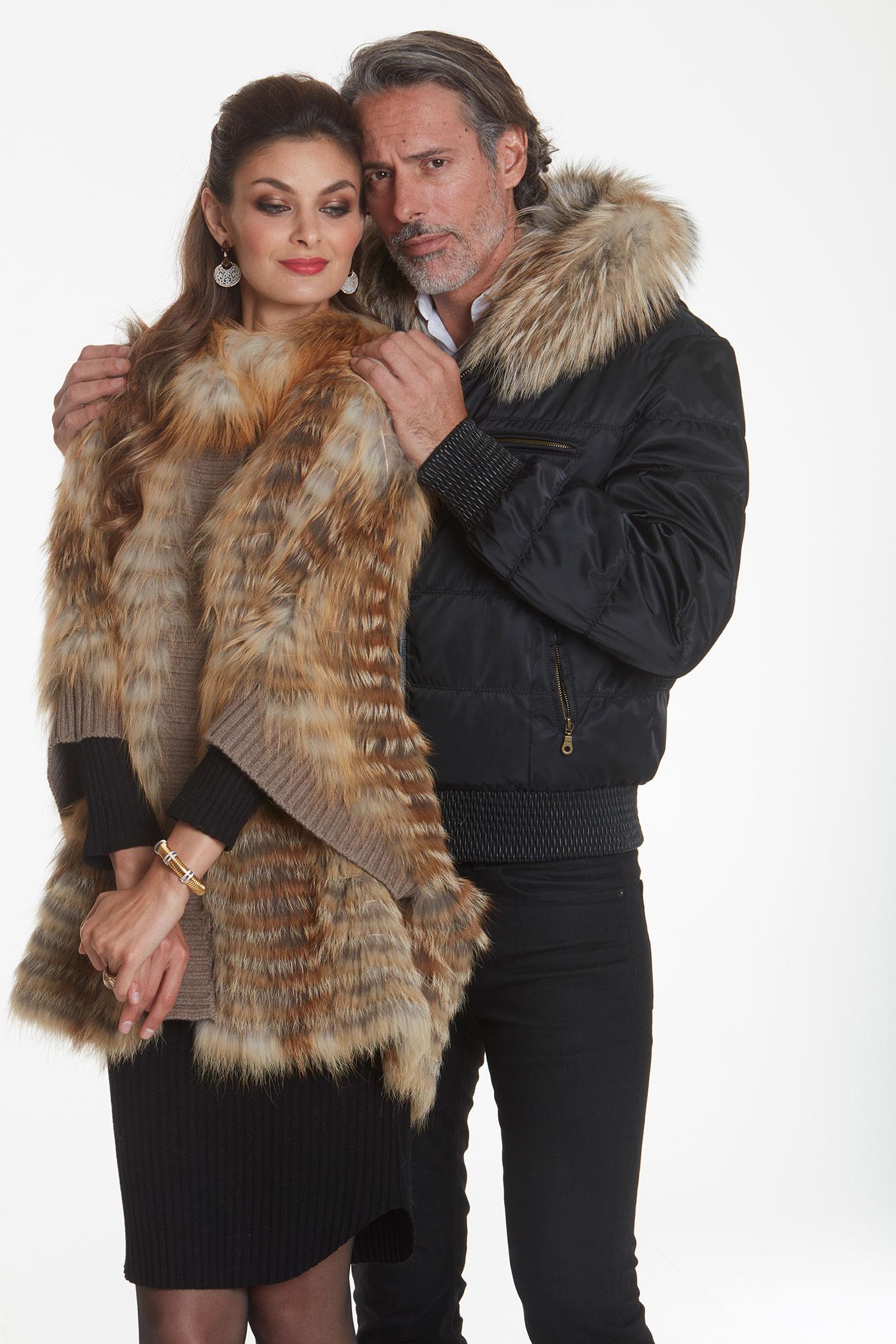 men's-quilted-fur-bomber-jacket
